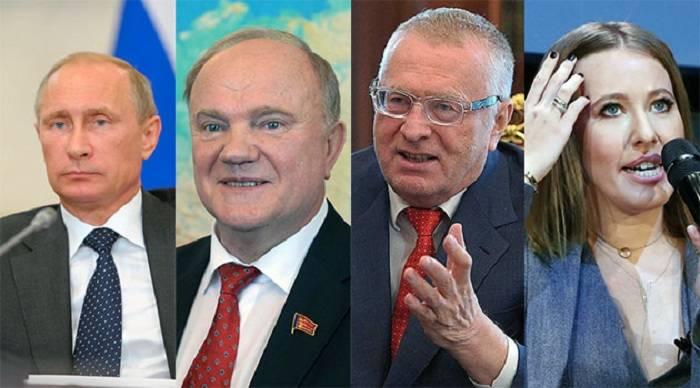 Prezident kim olsun: Putin, yoxsa Sobçak?
