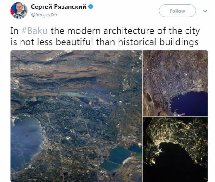 Bakının kosmosdan görüntüləri - FOTO