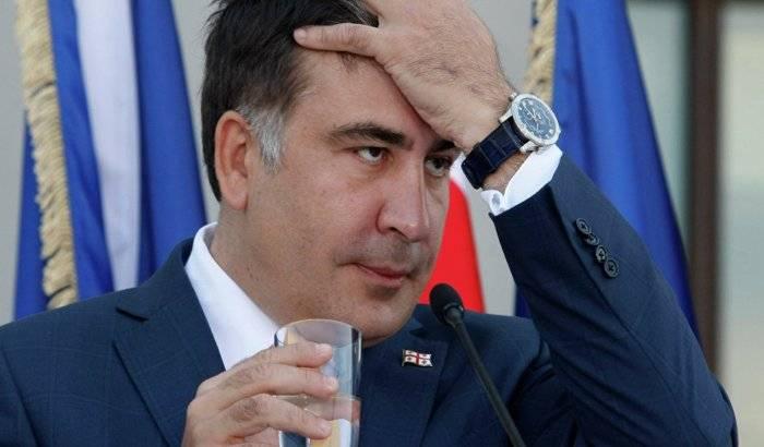 Expresidente georgiano detenido en Kiev se declara en huelga de hambre