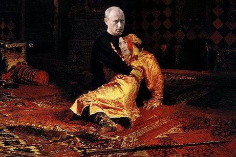 Saakaşvili Putinin yerişini yeriyə bilmədi