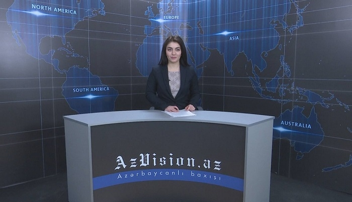 AzVision English releases new edition of video news for February 1 - VIDEO