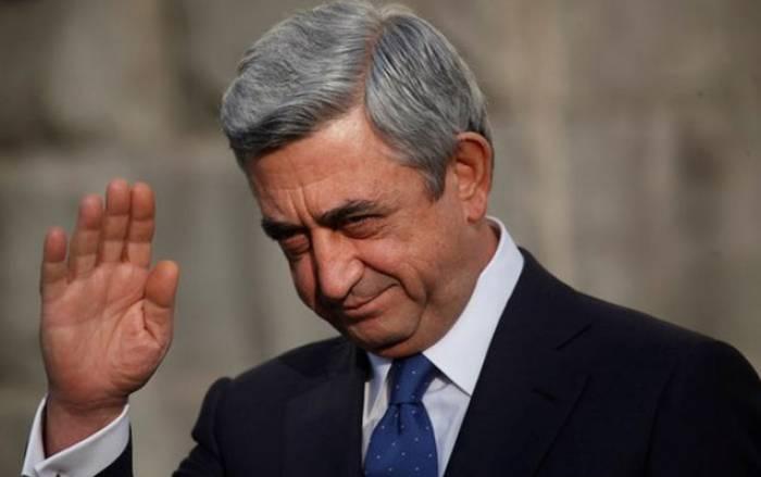 Ermənistan prezidenti ABŞ-a gedib