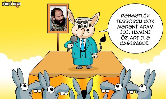 Terrorçunun ən kobud sözü – KARİKATURA