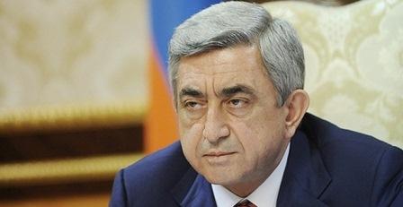 """Sarkisyan: """"Qarabağ Ermənistanın tərkib hissəsi deyil"""""""