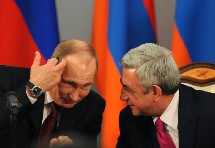 Sarkisyan təsdiqlədi: Rusiya ilə birgə qoşun yaradılır