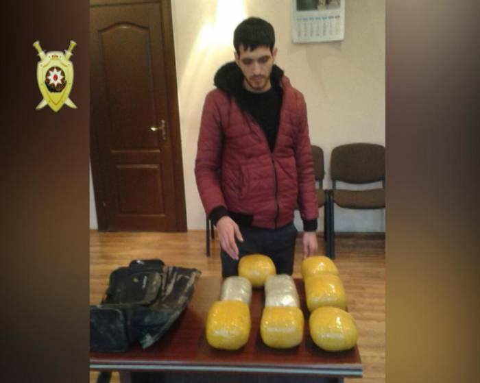31 kiloqram narkotik tutuldu - Fotolar