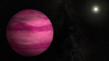 Çəhrayı rəngli planet kəşf olunub