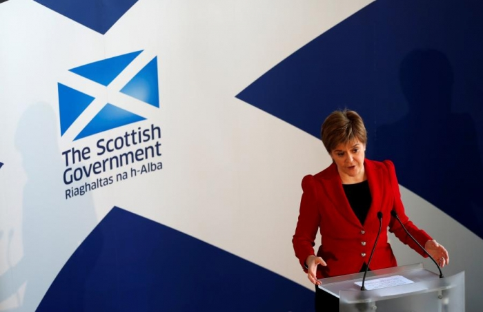 Sturgeon says timing of Scottish independence vote on hold until Brexit clearer
