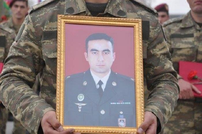 Prezident şəhid mayora Milli Qəhrəman adı verib