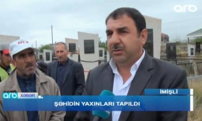Şəhidin məzarı 24 ildən sonra tapıldı - VİDEO
