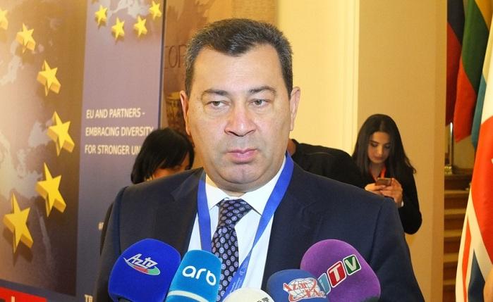 Səməd Seyidov: Azərbaycan Avropa İttifaqı ilə əməkdaşlıqda maraqlıdır