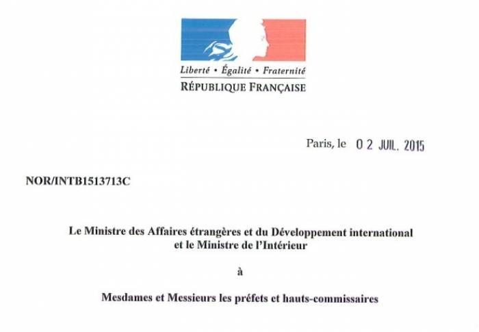 Un «jumelage» illégal: Les tentatives des Arméniens d'établir une «amitié» avec les provinces de France n'ont aucune base légale