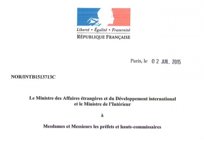 "There is no legal basis in establishing ""friendship"" relations by Armenians in French provinces"