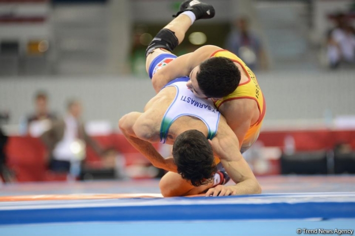 Azerbaijan's freestyle wrestler wins silver