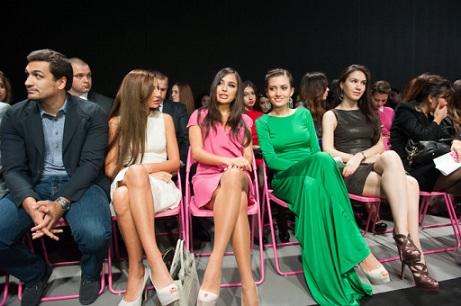 Leyla Əliyeva moda müsabiqəsində - FOTOLAR