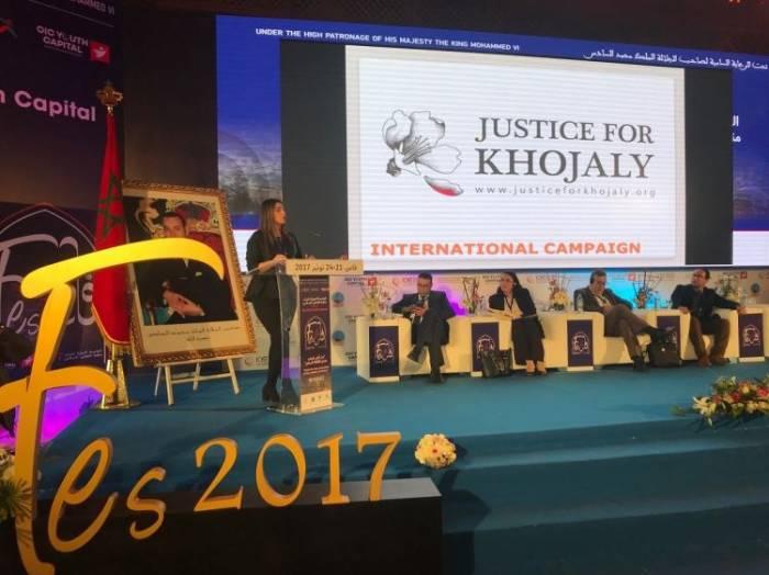 La presentación de la companía internacional ¨Justicia a Joyalí ¨en Maruecos -FOTO
