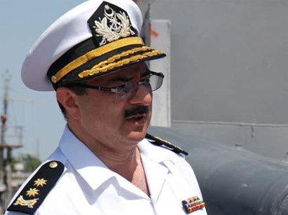 Navy Commander of Azerbaijan to visit Iran