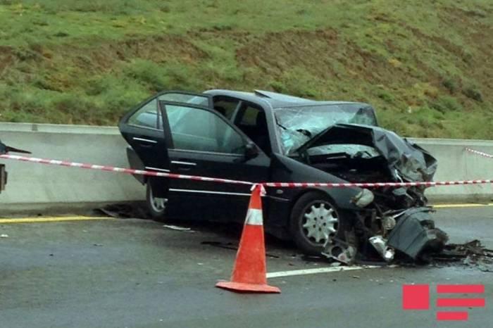 Bakı-Şamaxı yolunda ağır qəza: 7 nəfər yaralanıb