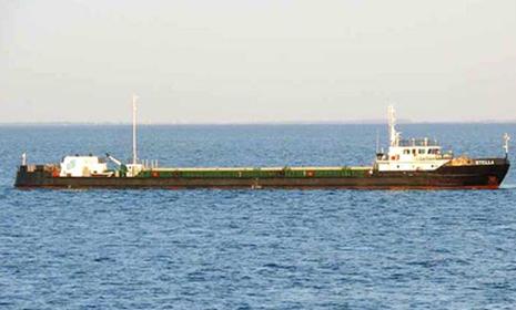 Russian cargo ship loses speed in Azerbaijani sector of Caspian Sea