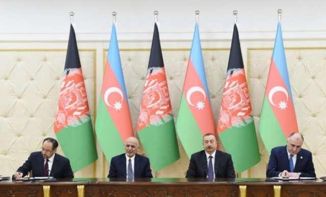 Azerbaijan, Afghanistan sign documents