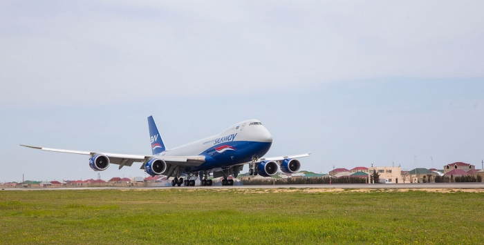 Silk Way West Airlines carries out charter cargo flight between Azerbaijan, Brazil