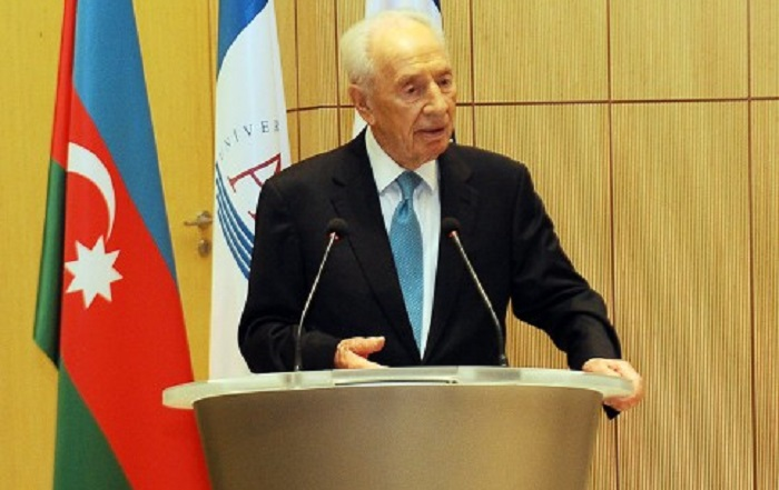 Israeli embassy in Baku to open condolence book over Peres death