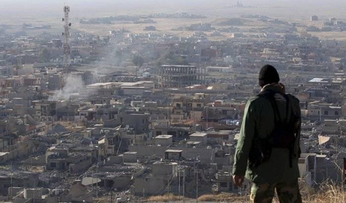 Coalición de milicias PMU entra en la ciudad iraquí de Sinyar