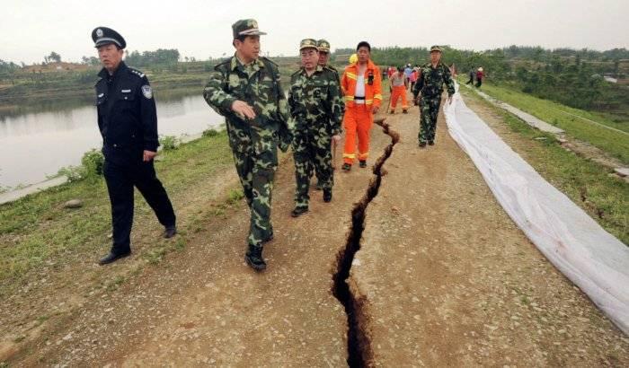 Asciende a 343 el número de heridos por terremoto en China