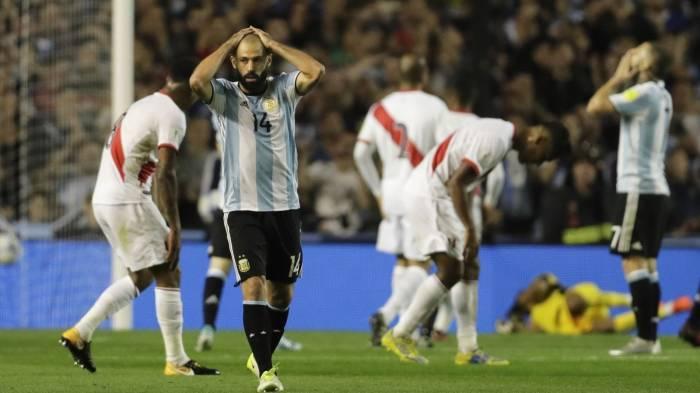 Remis gegen Peru: Argentinien vor WM-Aus
