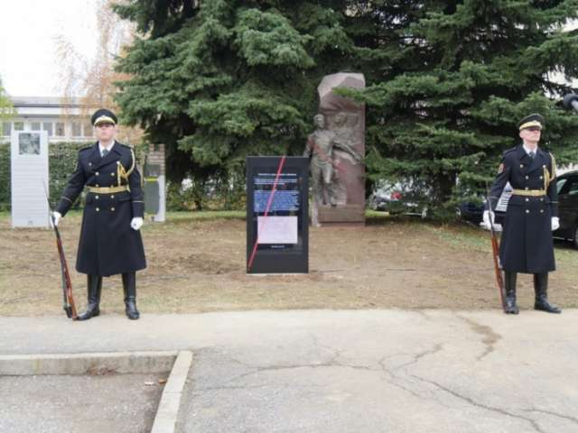 Monument to Azerbaijani WW II hero unveiled in Slovenia