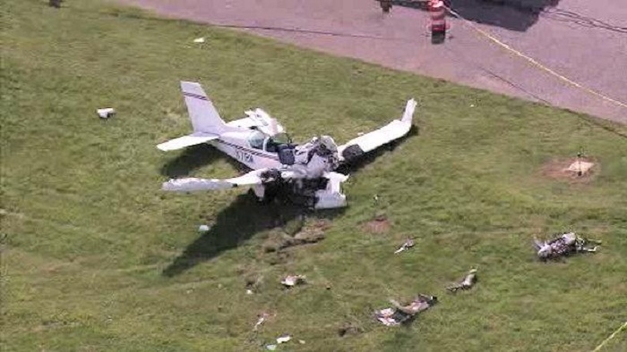 Plane crashes near Atlanta Air Show