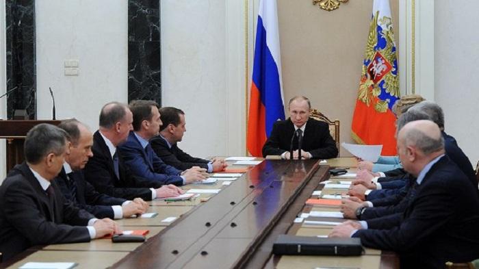 Putin Afrinə görə Təhlükəsizlik Şurasını topladı