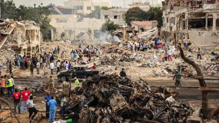Le bilan s'alourdit à 300 morts après l'attentat de Mogadiscio
