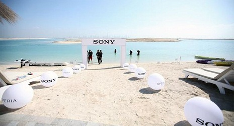 Sony underwater store opens for waterproof Xperia phones