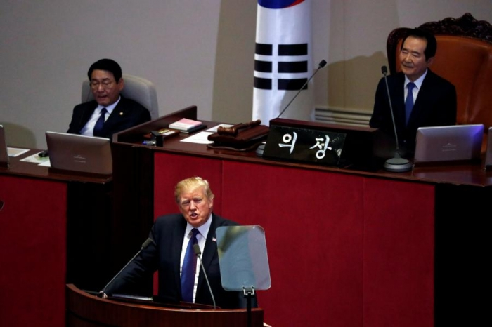 Trump to urge all nations to isolate North Korea's 'brutal regime' in South Korea speech