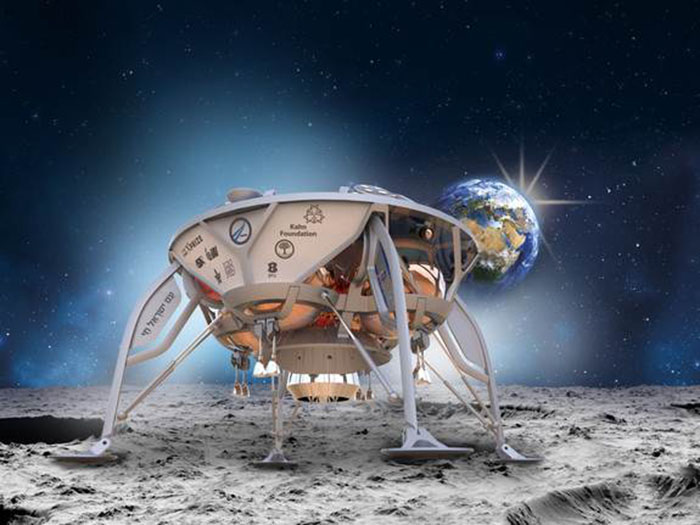 Israeli Team Eyes 2017 Blast-Off for First Private Mission to Moon