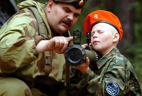 Rusiya hərbi təlimlərə başladı