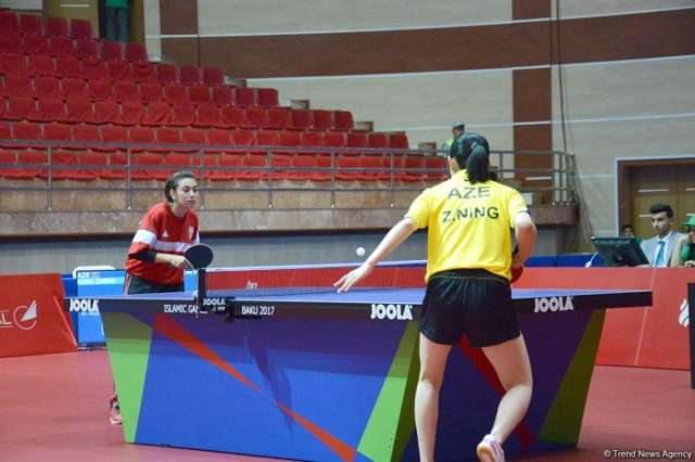 Azerbaijan wins another silver medal in table tennis