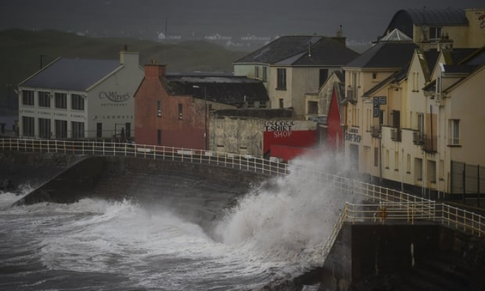Three people die as Storm Ophelia batters Ireland and Britain