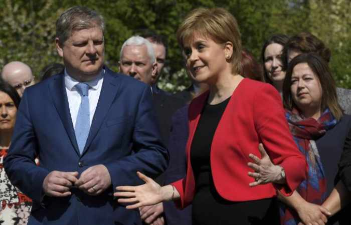 Scotland's Sturgeon says attempt to block independence vote will 'crumble to dust'