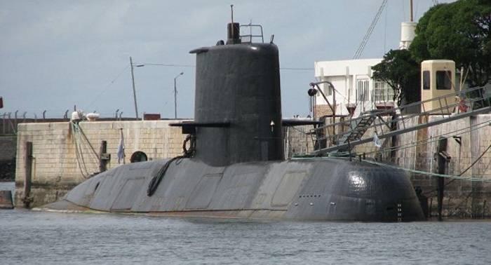 Desaparece un submarino argentino tras un corte de energía y un posible incendio