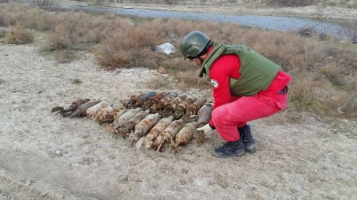 Sumqayıtda 20 top mərmisi tapılıb