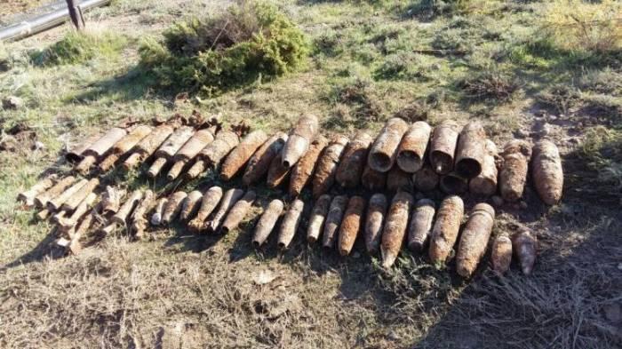 Sumqayıtda 49 partlamamış mərmi tapılıb
