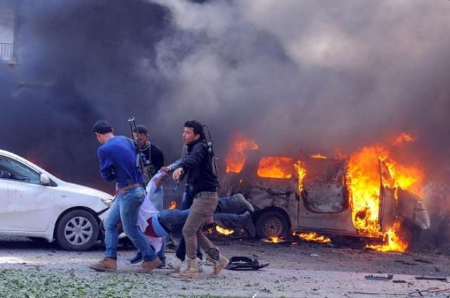 At least 100 people killed in explosion in Deir Ez-Zor, Syria
