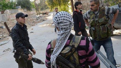 Syria conflict: EU to discuss amending arms embargo