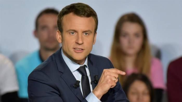 """Macron: """"La France est prête à soutenir l'Azerbaïdjan"""""""