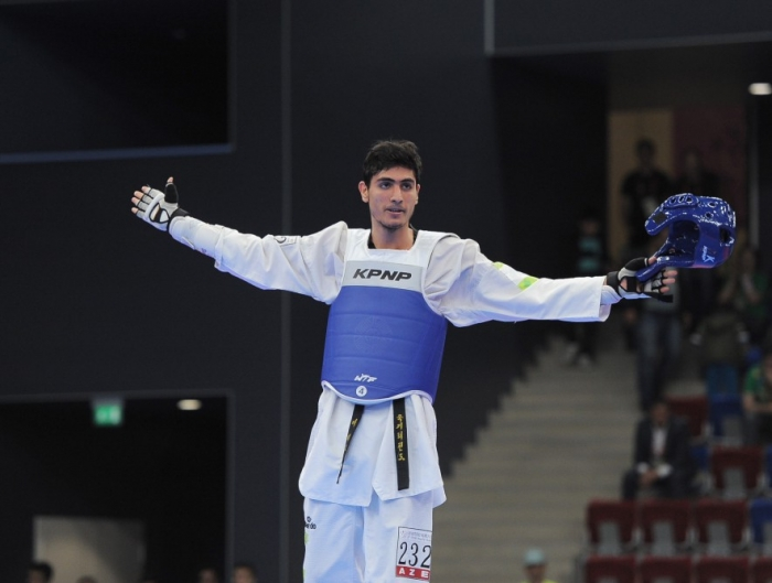 Azerbaijani taekwondo fighter wins silver at 29th Summer Universiade