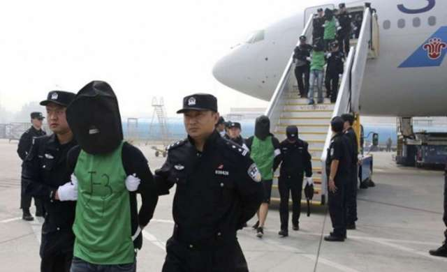 Taiwan lodges protest as Armenia deports fraud suspects to China
