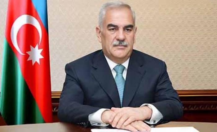 Məhbub Kazımov təltif edilib