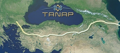 Construction of TANAP's underwater section starts in Turkey